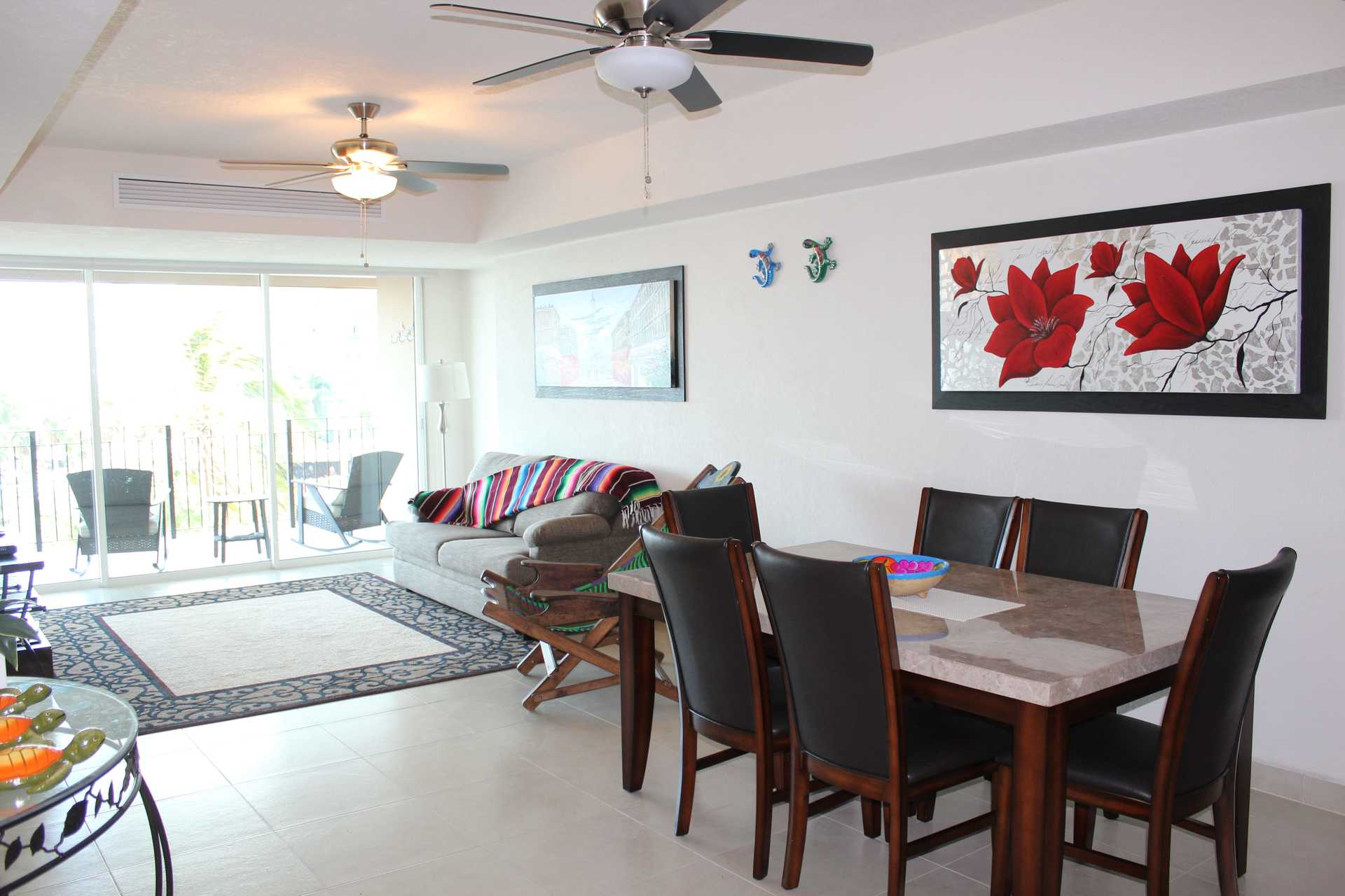 Modern and classy beachfront vacation condo for rent in The Grand Venetian Puerto Vallarta