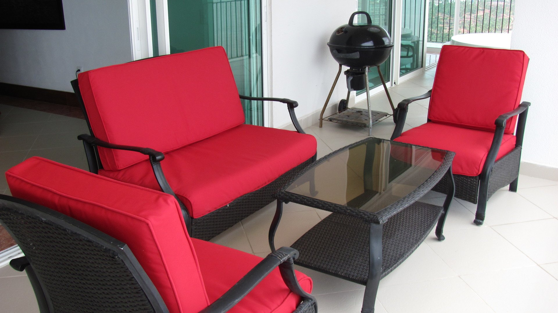 4 bedroom vacation condo patio furniture in Grand Venetian Puerto Vallarta