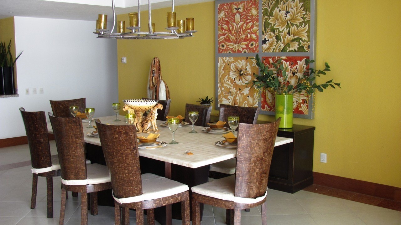 Luxurious 4 Bedroom In Puerto Vallarta The Beautiful Table Set Up With Classy Decor